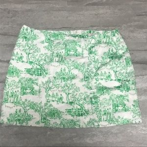 Lillly Pulitzer Hayes Skirt - Spring Fever Toile